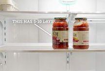Mon frigo bien organisé / Tout ce qu'il faut savoir pour un réfrigérateur parfaitement organisé !