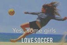 *soccer* / Including me.