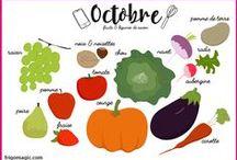 En octobre... / Octobre, c'est Halloween mais pas que ! Voici nos recettes coups de cœur pour ce mois d'automne...
