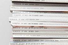 She is in Vogue  / Vogue editorials