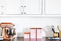 Dream Kitchens & Kitchen Accessories / We spend almost every waking hour in our #kitchen dreaming up tempting little confections; obviously we'd have a #dreamkitchen or several on our #wishlist. Here's a collection of our #dreamkitchens and #kitchenaccessories...