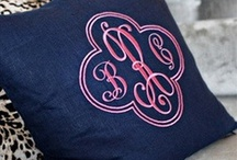 Monograms for Machine Embroidery