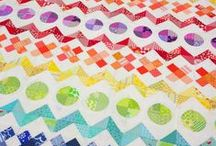 Over the Rainbow / by Honey, Bunny, and Doll Quilt Designs