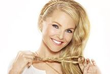Christie Brinkley Extensions & Accessories / No time for the hair salon? No worries! Christie Brinkley extensions are perfect when you need gorgeous hair to-go. Snap on some stylish bangs, clip in a one-piece hair extension, or pop on a perky ponytail.  / by Hair2wear