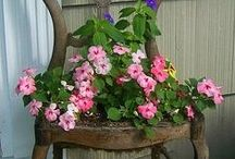 Gardening DIY Projects / Upcycle, re-purpose, and DIY these garden projects!