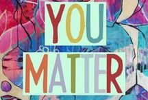 "You Matter! / WRH believes in a ""You Matter"" approach to everything, including the way we treat our employees, residents, customers and vendors. Remember that YOU MATTER!"