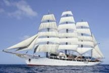 Sea Cloud / The legendary luxury sailing ship built for cereal heiress Marjorie Merriweather Post.