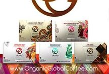 Powered by Organic Global Coffee / Rooted in Community. Powered by Coffee.