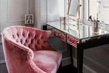 Dressing Rooms / Who wouldn't want a #chic #dressing room or #walkincloset like these...