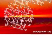 while I'm no saint or sin / xhosa
