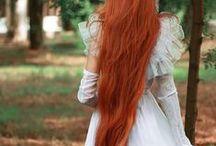 Magnifiques cheveux longs/Beautiful Long Hair / Un hommage à Vienna De Vey.