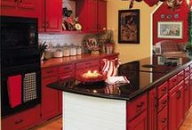 I want a RED Kitchen! / I am remodeling my kitchen in red. It's not going to happen overnight, but it WILL happen.