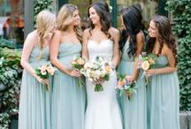 ♥ Colored Bridesmaid Dresses Ideas!♥ / ♥ Colored Bridesmaid Ideas.. Which Is Your Favorite Theme Color??♥