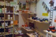 Nos produits Sol à Sol mis en scène / Voici des photos de nos produits dans des magasins