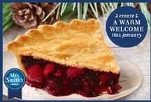 A Warm Welcome All Year Long With Mrs. Smith's® Pies! / by MRS. SMITH'S® Pies