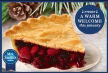 Warm Up Any January Table / It's cold outside, warm them up from the inside out with this winter themed table complete with our Mrs. Smith's® Very Berry Pie. / by MRS. SMITH'S® Pies