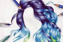 Hair Styles / Smukt hår