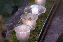 Upcycled Garden Lighting / Need some new garden lighting? Check out these ideas to DIY, upcycle, and re-purpose. Habitat Stores have lots of lighting fixtures to work on
