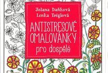 Coloring Book - Antistresové omalovánky pro dospělé / coloring, omalovánky