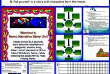Middle School ELA: Projects, Presentations, and Units / Excellent Middle School ELA Curriculum for Projects, Presentations, and Units with detailed lesson plans for several days (at least!) of Activities!