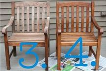 Summer Outdoor Cleaning / Clean up and renew those patio projects! DIY with finds from the Habitat Stores.