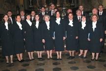 Decennale fondazione (2002) / Animazione della S. Messa presso la chiesa parrocchiale di S. Tommaso di Canelli (AT) e Concerto per i festeggiamenti del decennale di fondazione del nostro Coro