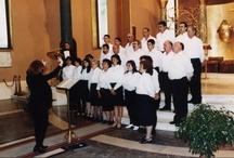 Cascia (1999) / Animazione della S. Messa e concerto presso la Basilica di S. Rita a Cascia (PG)