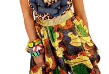 Kente Cloth/African Inspired / by Jessie