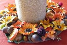 Thanksgiving Crafts / Craft ideas for celebrating the Thanksgiving season's bounties