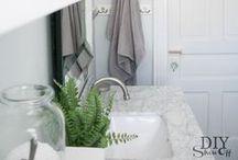 BATHROOM / Inspirace do koupelny