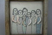 Niña bordada/ Embroidered girl