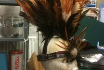 Tiger lily headpiece for Peter Pan / Costume