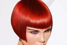 POR LOS PELOS / Me encanta cambiar de peinado, me gusta el color rojo.
