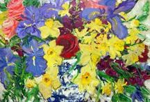 Florals / A Collection of Floral Paintings by Artists at Koyman Galleries