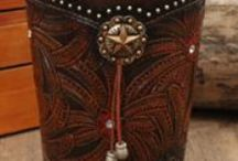 leather stamping/ design / by Doug Burch