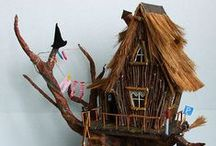 Miniatures fantasy houses - Интерьерные домики / Miniatures houses, fantasy houses for interior