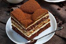 Italian Desserts / Delicious looking italian desserts
