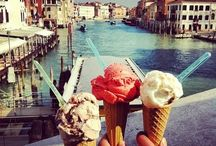 """Gelato / Is the Italian word for ice cream derived from the Latin word """"gelatus"""" (meaning frozen). The Italians definitely do the best ice cream."""