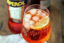Aperol Spritz / The Spritz is a popular ritual! It is undoubtedly the most widespread and commonly drunk aperitif in Italy: a traditional ice-breaker and symbol of a lively atmosphere.