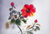Sumi-e Atölyesi /  Sumi-e Atölyesi Çalışmaları, Sumi-e, Japon Resmi, Japanese Art