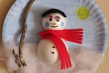 Snowmen Crafts / Easy DIY snowmen crafts to make