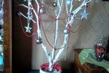 Christmas Trees / A selection of DIY Christmas tree ideas