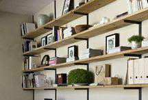 Shelves / Idées d'étagères
