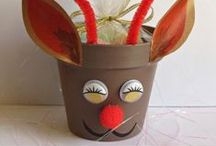 Christmas Reindeer Crafts / Christmas reindeer crafts for the Festive Season