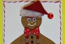Gingerbread Crafts / A selection of gingerbread house and gingerbread man crafts