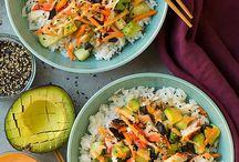 Recipes - Veggie Bowls