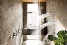 Douches italiennes / Envie d'une douche à l'italienne ? Voici des idées trouvées pour vous sur le net!