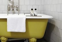 TREND - Buttercup Yellow / Add a splash of colour to your bathroom with one of the hottest colours right now - Yellow. Be brave and bold with this mood lifting sunshine colour.  http://soak.com/