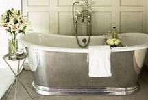 STYLE - Traditional Bathrooms / Inspired by a time gone by, embrace the era of traditional design and apply it to your bathroom. Roll top baths, Victorian and Edwardian designs and detail all create a haven of luxury.  http://soak.com/