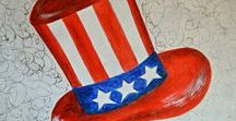 Independence Day Crafts / DIY crafts to celebrate July fourth